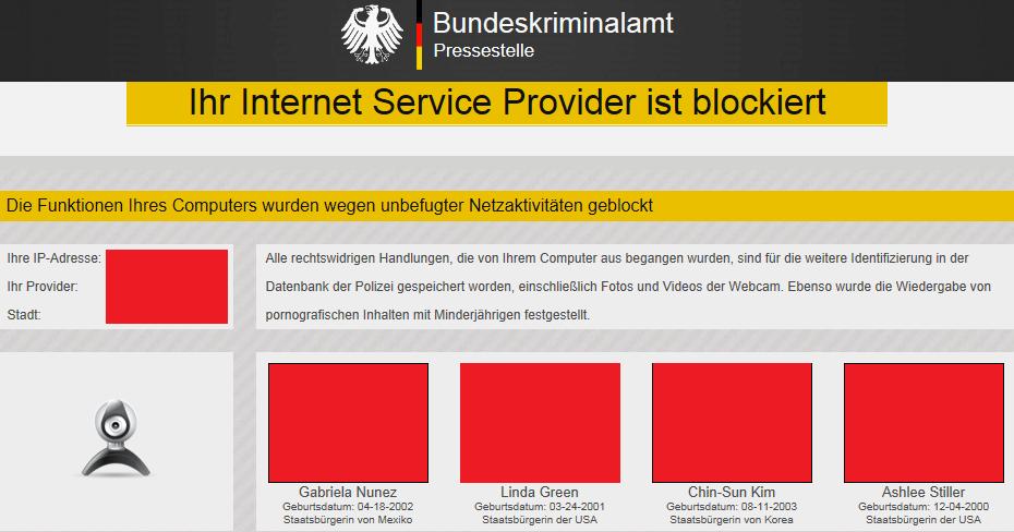 Bundespolizei Virus De