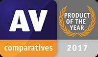 Produkt des Jahres bei AV-Comparatives