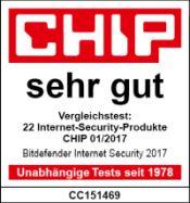 Chip Testsieg Bitdefender